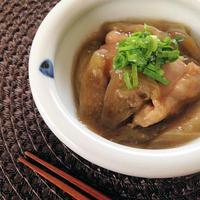 鶏もも肉となすのとろとろ煮☆治部煮風