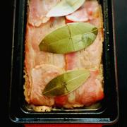 【豚と鶏レバーのパテ・ド・カンパーニュ】、お肉で晩酌。