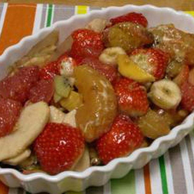 バルサミコのフルーツマジック!!フルーツのカポナータ仕立てバルサミコ風味