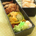 2日分のお弁当5&牛肉とレンコンのバルサミコ丼の晩ごはん by 薬膳料理研究家*フードコーディネーター 神田 美紀さん