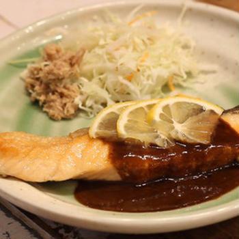 【recipe】サーモンのオイル焼き