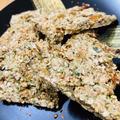 桜海老とあおさの煎餅