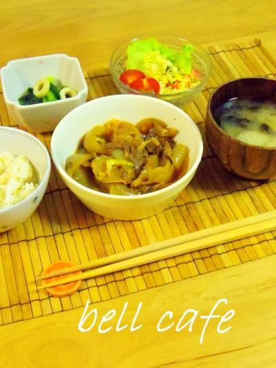 牛丼にも☆牛肉と玉ねぎの甘辛煮