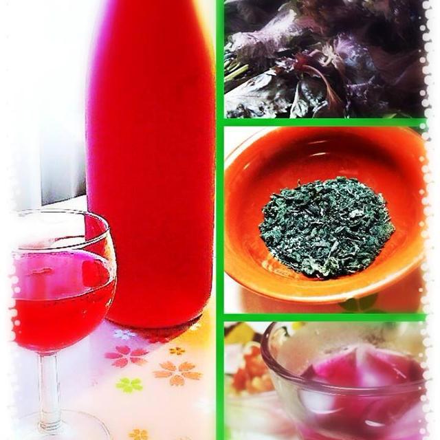 赤紫蘇ジュース作ったあとの赤紫蘇でゆかり