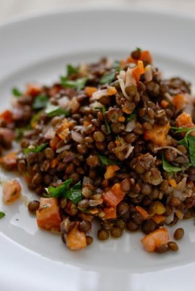 レンズ豆のサラダSALADES DE LENTILLE VERTES