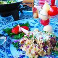 無花果とポルチーニ茸のリゾット  イタリア気分で門松点灯 by 青山 金魚さん