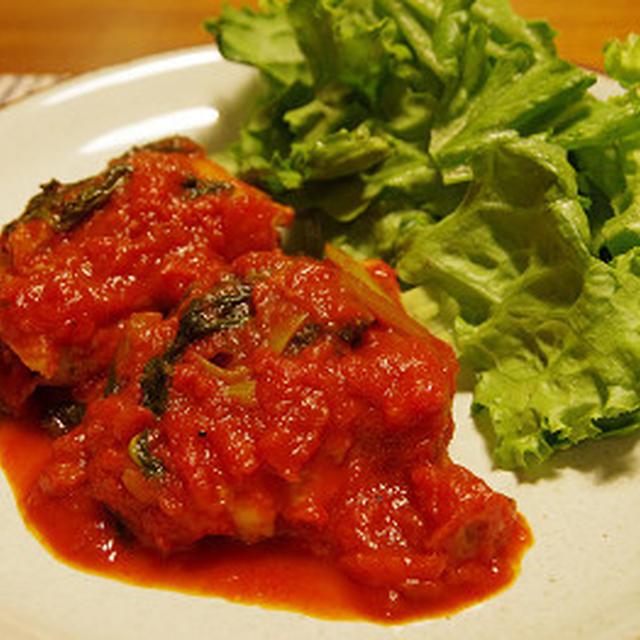 チキンのトマト煮。