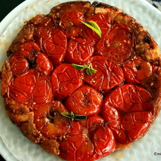 トマトのタタン、ニソワーズサラダ