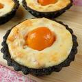 金柑をたっぷり使ったベイクドチーズのブラックココアタルト by 銀木さん