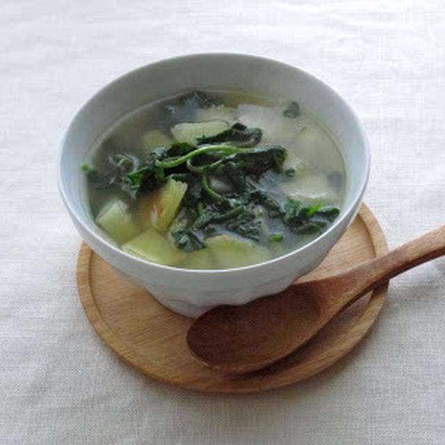 クレソンのベジ・スープ