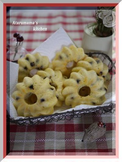 小岩井製品で焼きドーナツ