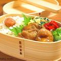 【今日のわっぱ弁当】鶏の照り焼き by みぃさん