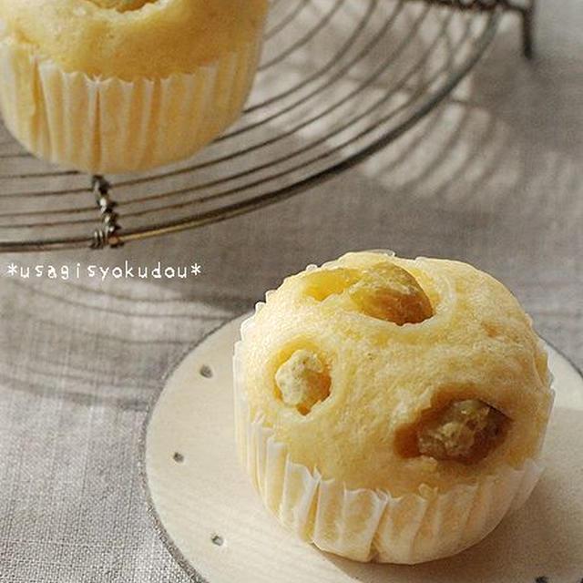 おうちおやつ*くりの蒸しパン