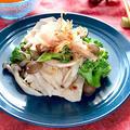 鶏胸肉とブロッコリーのレンチン梅おかか和え【時短簡単ローファットおかず】|レシピ・作り方