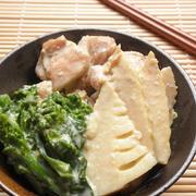 たけのこと菜の花の豆乳クリーム煮☆