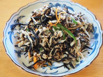 ひじきと切り干し大根の栄養満点サラダ