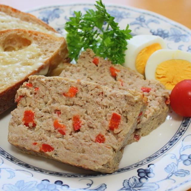 豆腐入りミートローフ Meat loaf with tohu