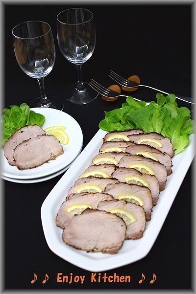 【塩麹レシピ】ローストポーク&豚しゃぶサラダ