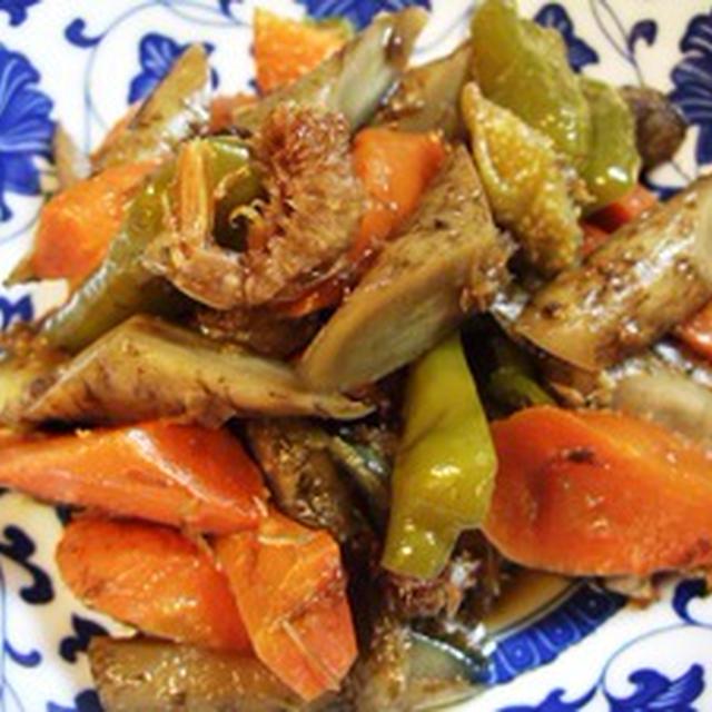 4色野菜の煮物