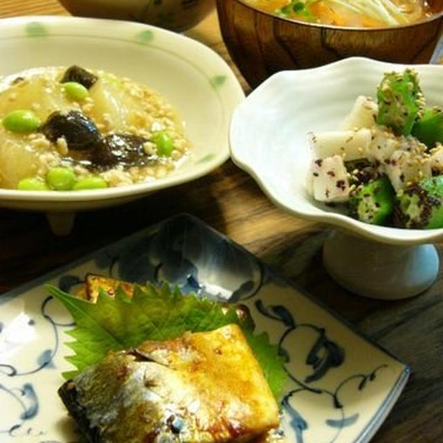 和食の日☆ 昨日の晩ご飯♪