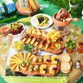 バスケットにコンテとワインを詰めてピクニックに出かけよう【リーフレット完成】