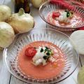 静岡産の「はるたま」で作るガスパチョ