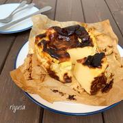 【改良版レシピ】大人気のバスクチーズケーキ