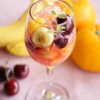 【モニター】サラダ寒天とフルーツのマチェドニア
