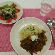 料理教室〜ビーフストロガノフ・オイルサーディンサラダ〜