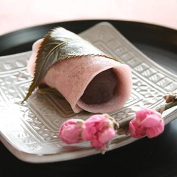 関東風桜もち