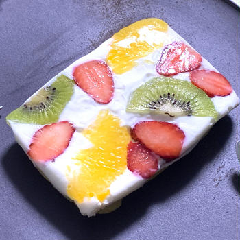 低糖質&低脂質!オープンフルーツサンド