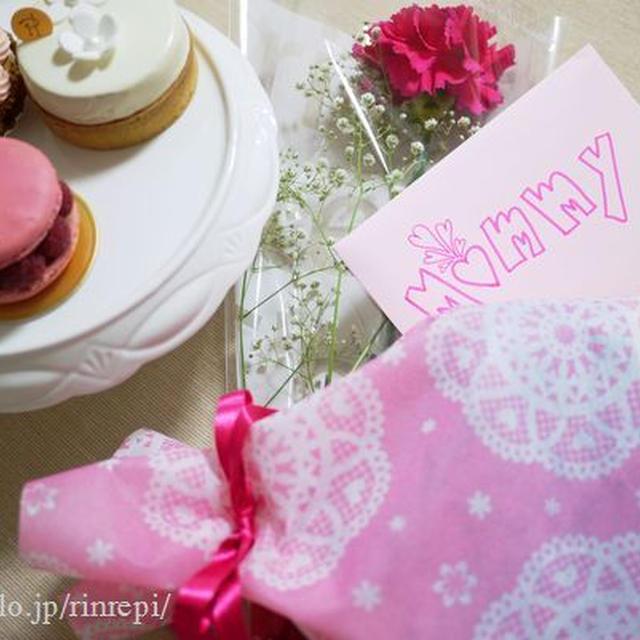 母の日ケーキ♪ ロザンナプレートで。