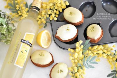 【レシピ】レモンリキュールでレモンケーキ