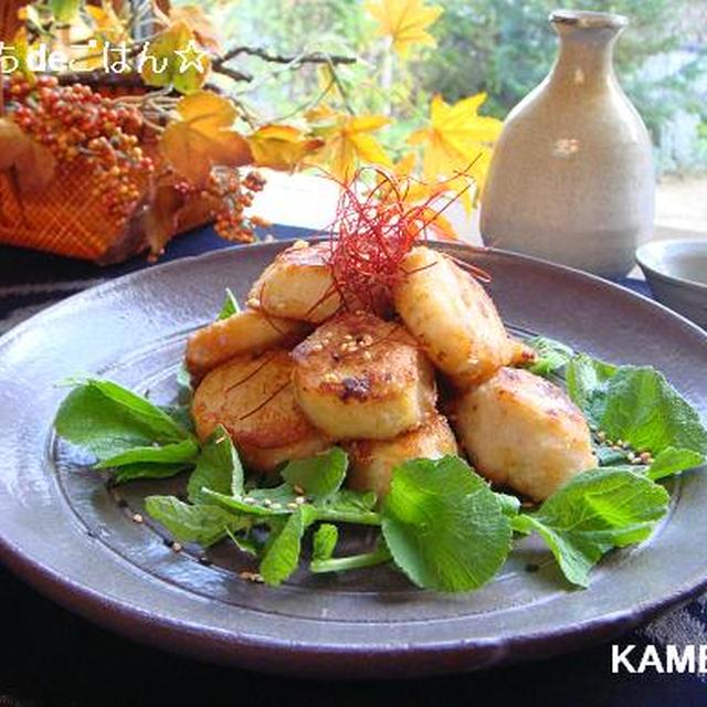 里芋の韓国風唐揚げ♪焼肉のたれだけ!