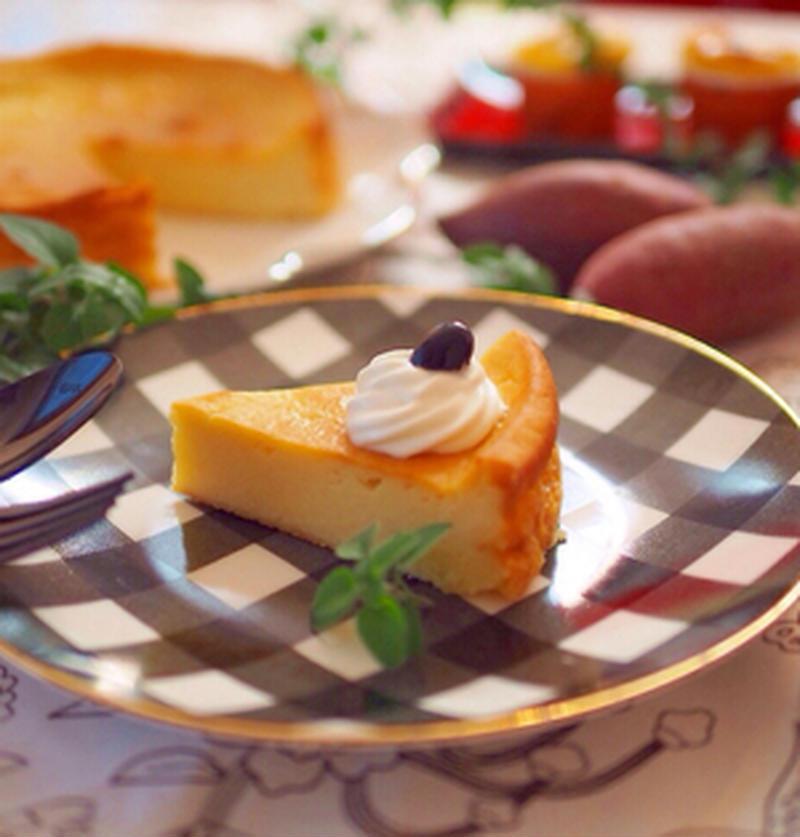 おいしい季節に作りたい♪「さつまいも×チーズケーキ」の絶品レシピ