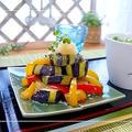 和食で使うレモングラス♪茄子とパプリカの揚げ浸し