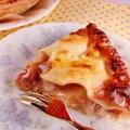 大絶賛!桃のアーモンドクリームパイ