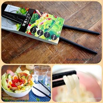 使いやすい!バネでラクラク100均の菜箸&芸能人と合成できる加工アプリ