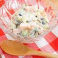 あともう1品に便利♪トマトときゅうりと雑穀ビーンズのライタ風サラダ by アップルミントさん
