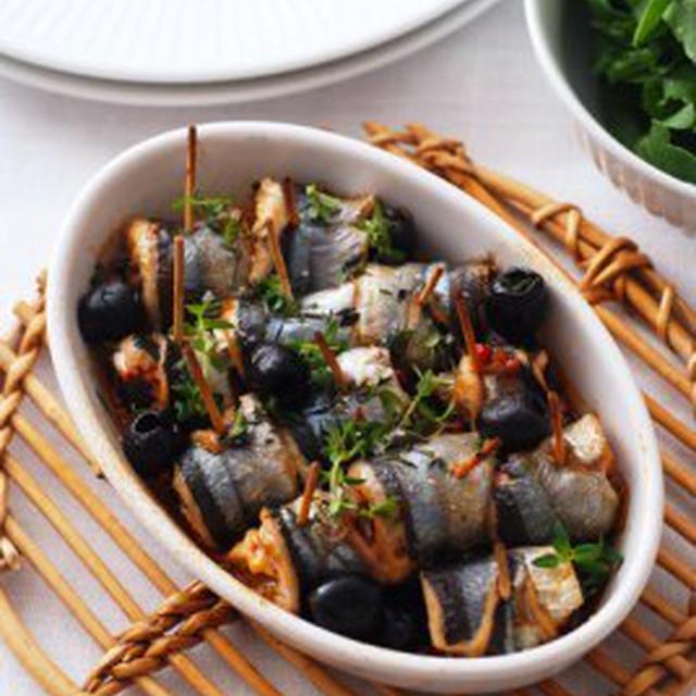 秋刀魚と黒オリーブのロール巻きBALAOU DE JAPON ROULEES AUX OLIVES NOIR