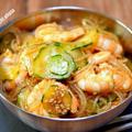 ピリッと美味しい「海老と春雨の韓国風サラダ」&「アウトレットで買ったパスタソースが美味しかった」