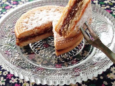 >りんごとチョコの冷たいビスケットケーキ by Legeloさん