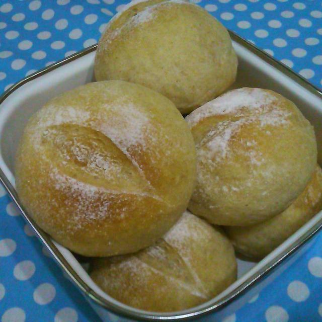 全粒粉丸パンと・・・紅茶のロールケーキ