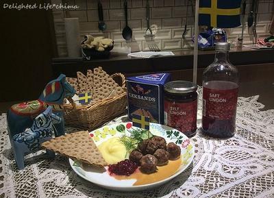 スウェーデンの母の味*ショットブッラル♪