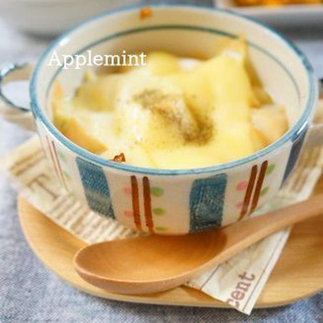 ◆ある食材が隠し味◆麩のオニオングラタンスープ