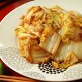 シンプル♪白菜のバターしょうゆの生姜炒め
