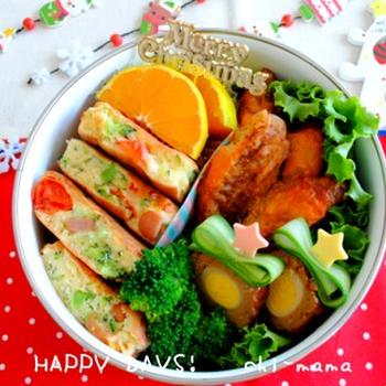 【連載】日本ハム「お弁当なび」~クリスマスお弁当特集~