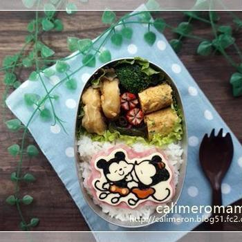 バレンタイン☆ミキミニのお弁当