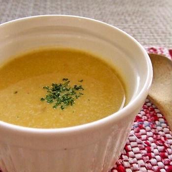 美容にも★かぼちゃの冷製スープ