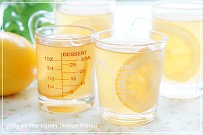 レモン入り♪はちみつレモンゼリー
